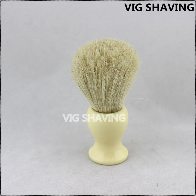 Hot selling resin handle Horse hair men brush for beard shave