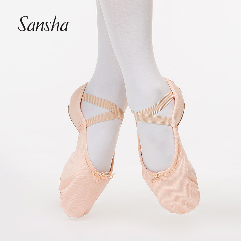 Soft Canvas Ballet Dance Training Shoes For Baby Toddler Kids Girl /& Adult Women