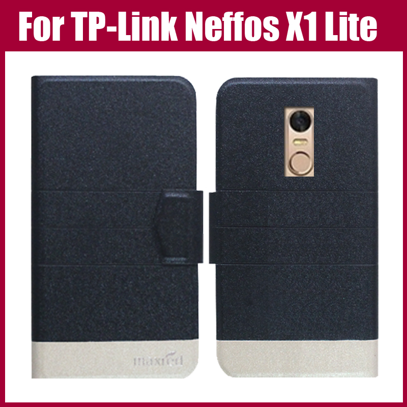 Hot Sale! TP-Link Neffos X1 Lite Case New Arrival 5 Colors Fashion Flip Ultra-thin Leather Protective Cover Phone Bag