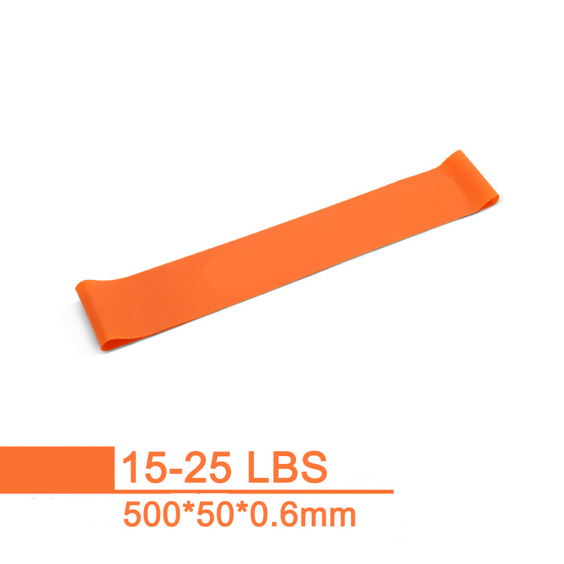 500mm Rehabilitation Resistance Band Gym Pilates Elastic Strength Rubber Loop Workout Fitness Power Training Sports Equipment in Resistance Bands from Sports Entertainment