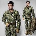 UNS Armee CS Paintball Kampf Einheitliche Militärische Camouflage Uniform Jagd Anzug Wargame MANTEL + HOSEN Set Militär Uniform