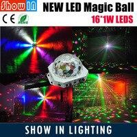2018 New Design DJ Disco Party Wedding Club Pub KTV Stage Effect Projector DMX 16PCS LED