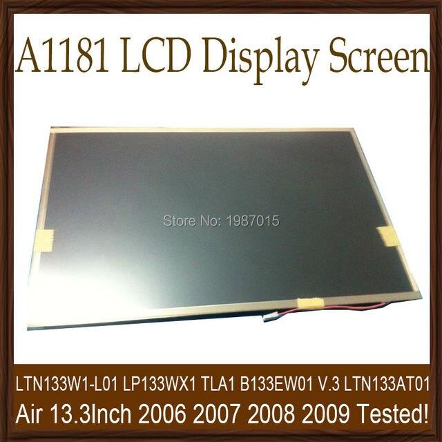 Оригинал A1181 ЖК LP133WX1 TLA1 LTN133W1-L01 Для APPLE Macbook Air 13.3 ''ЖК-Дисплей СВЕТОДИОДНЫЙ Экран Ноутбука Ремонт Части Испытания