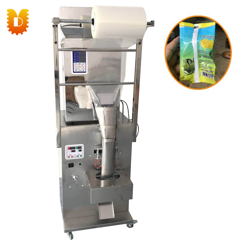 1-999g Snack Food Cereals Granule And Powder Filling And Packing Machine/Automatic Back Sealing Machine semi measuring cup manual powder granule filling machine