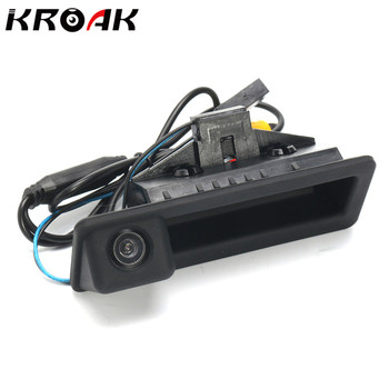 KROAK CCD Car Rear View Camera cho BMW 5 Series M5 E39 E60 E61 Lật Sao Lưu Máy Ảnh