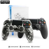 WUIYBN Bluetooth Gamepad Controller Wired/Wireless Joystick For PS4 Controller SONY Playstation 4 Game Machine Console