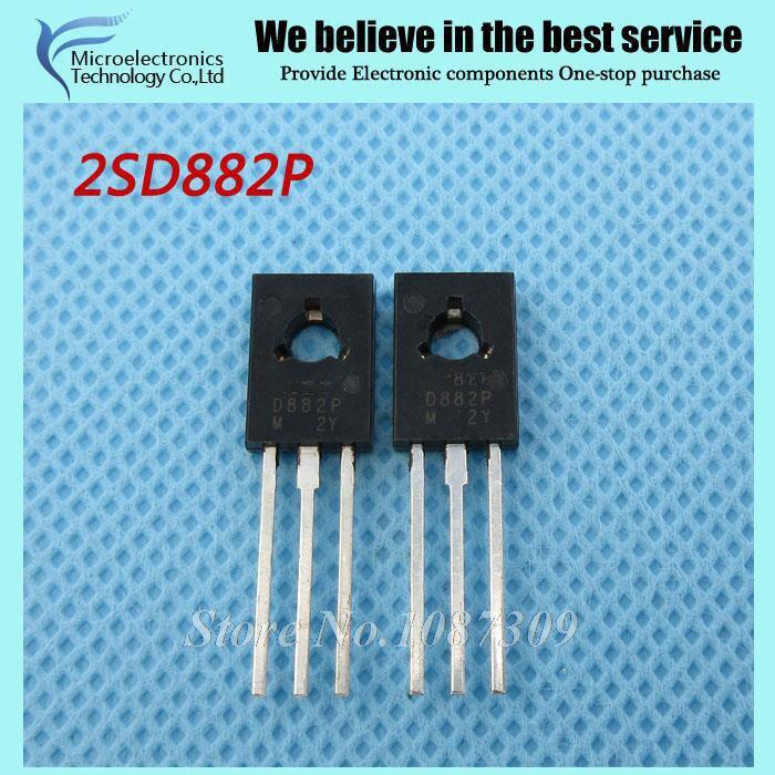 10 pz 2SD882P D882P D882 TO-amplificatore per 3A 40 V PNP nuovo originale10 pz 2SD882P D882P D882 TO-amplificatore per 3A 40 V PNP nuovo originale