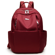 Fashion backpacks 2018 Leisure Oxford women Mini Backpack Female Solid Color Bookbag Girls Schoolbag High Quality