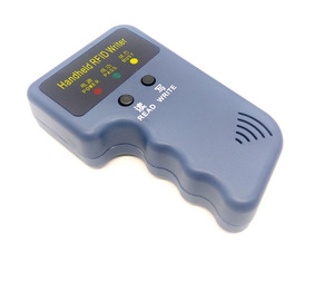 Image 2 - Handheld 125KHz RFID Duplicator Copier Writer Programmer Reader + EM4305 T5577 10 Keys 10 Cards Rewritable ID Keyfobs Tags Card