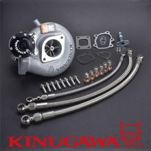 Turbocharger SR20DET SILVIA S14 S15 TD05H-18G Turbo #301-02035-002 kinugawa turbo oil and water line kit for nissan s14 s15 sr20det w rb25det t3 turbocharger top mount