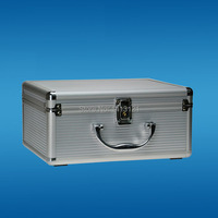 220*170*85mmPortable aluminum toolbox instrument case medicine equipment part toolcase Cosmetic Box tool packaging
