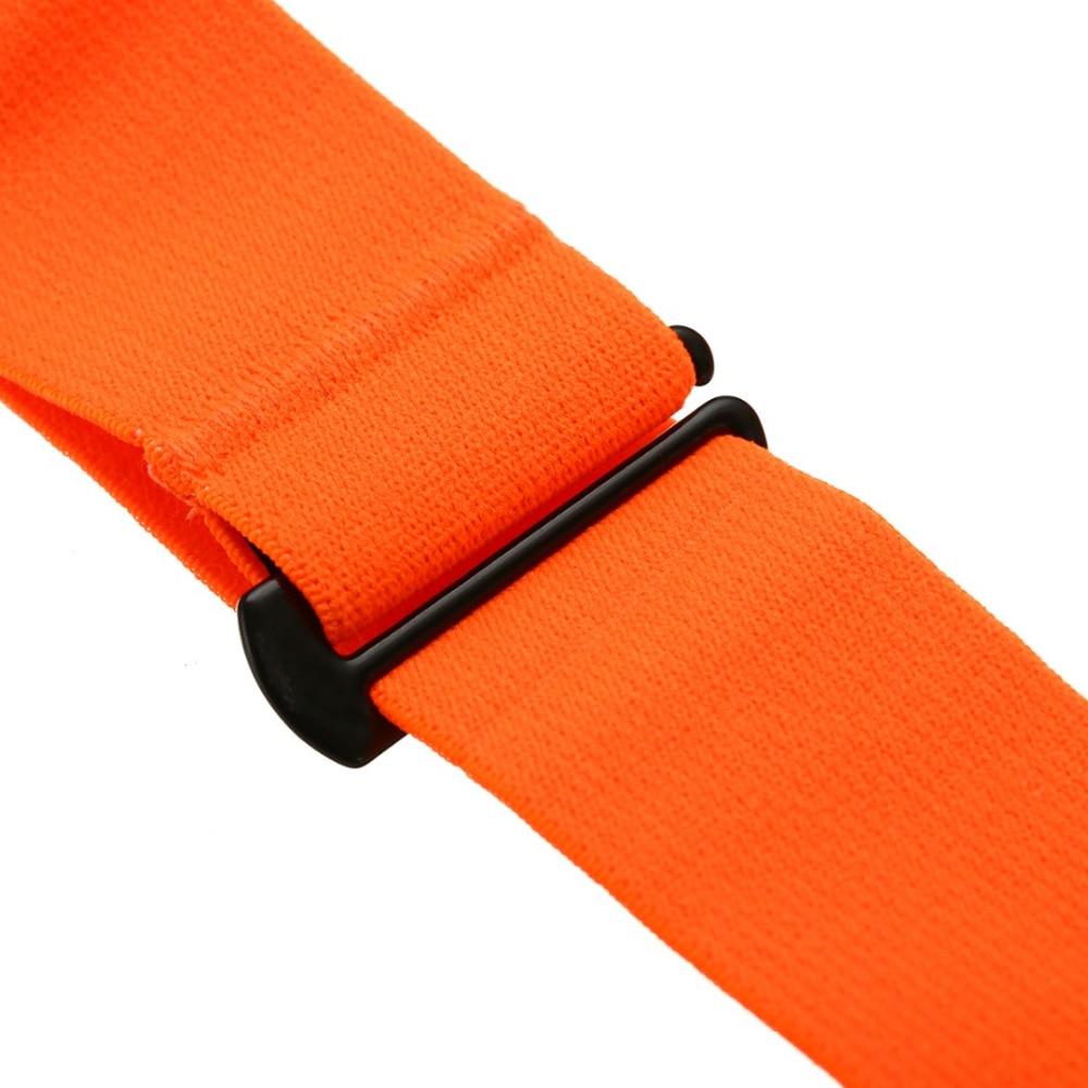 Højkvalitets orange elastisk brystbæltebåndbånd til Wahoo Garmin - Fitness og bodybuilding - Foto 5
