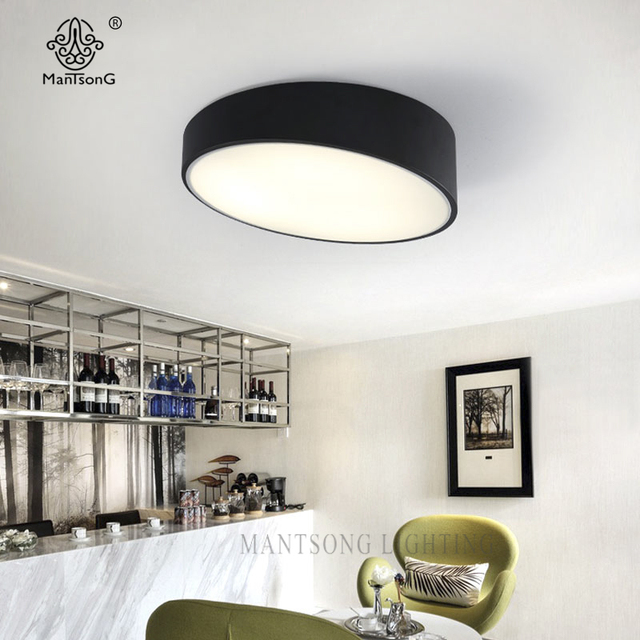 Modern Ceiling Lights Smart House Simple Acrylic LED Lamp Minimalist Luminaires For Living Room Hall Bedroom