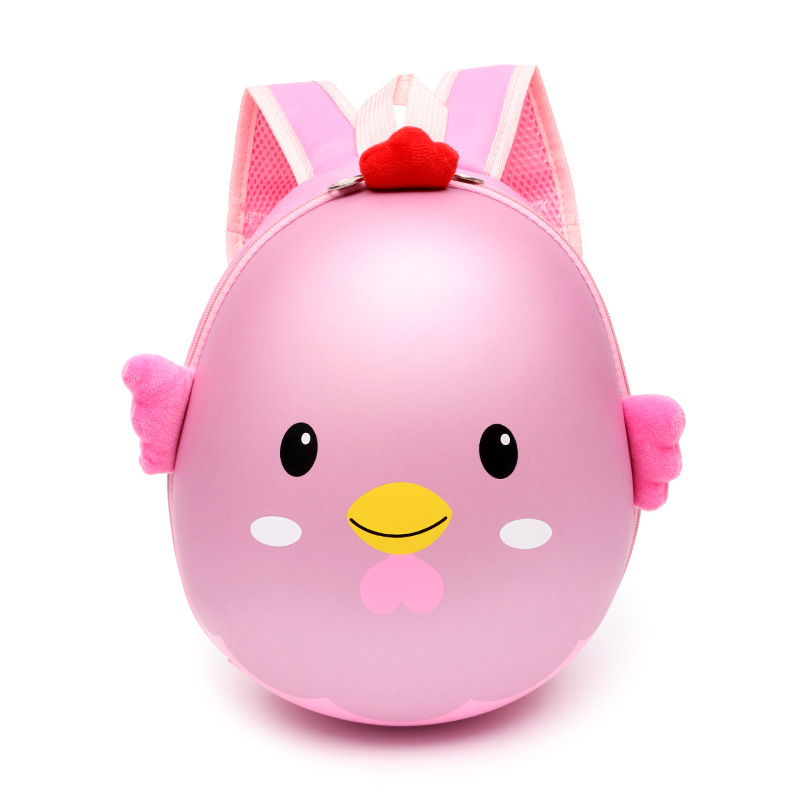 Cute 3D Chick Egg Shell Bag For Boys Girls Children's Backpack Kindergarten School Bags Kids Preschool Backpacks Mochila Escolar
