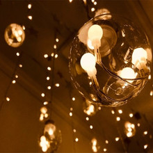 New 3M 5M 10M Fairy Garland LED Ball String Lights Waterproof For Christmas Tree Wedding Home Indoor Decoration USB 5V Powered