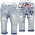 3643 бесплатная доставка мягкие джинсовые брюки детские мальчиков джинсы ребенок девушки джинсы весна осень дети брюки моды 2017 НОВЫЙ ОЧЕНЬ ПРИЯТНО