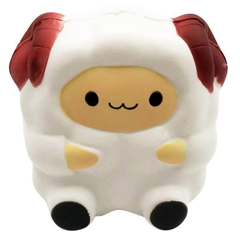Slow Rise Toy, Soft And Cute Fun Sheep Fragrance Slowly Rise Toy Decompression Toy Decompression Toy Key Mobile Phone Pendant