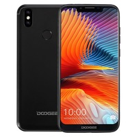 DOOGEE BL5500 Lite 4G Mobile Phones Android 8.1 2GB+16GB MTK6739WA Quad Core Smartphone Dual Rear Cameras 6.19 inch Cell Phone