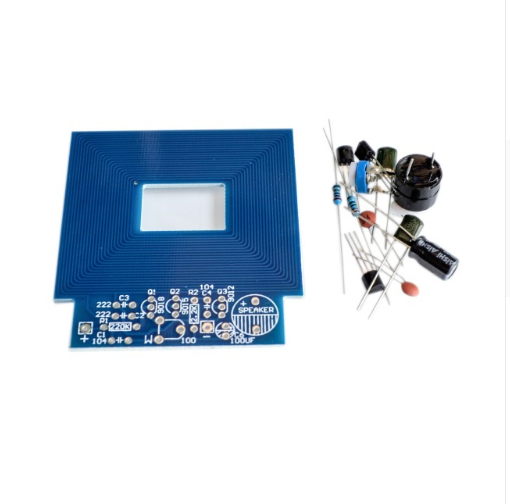 10PCS/LOT Metal Detector Scanner Unassembled Kit Project 3-5V DIY Kit Suite Trousse Boards Module Integrated Circuits