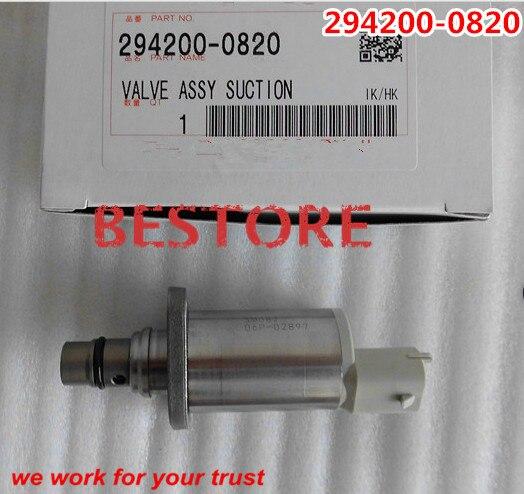 Оригинальный и новый Регулятор давления всасывания регулирующий Клапан / scv и клапан 294200-0820