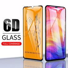 6D Full Glue Cover Tempered Glass For Xiaomi Mi 9 8 SE A2 Lite Redmi Note 7 6 5 Pro Pocophone F1 Screen Protector Film