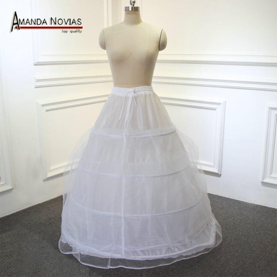 4 Ring Big Petticoat For Ball Gown Wedding Dress Length 85cm Big