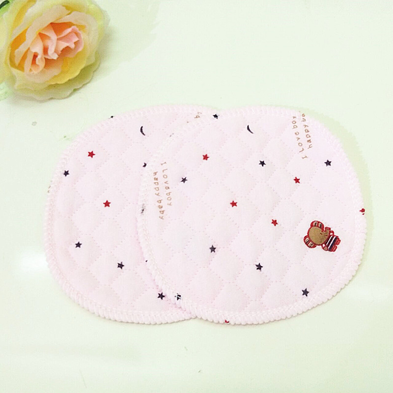The Lowest Price 2Pcs/4Pcs Reusable Feeding Nursing Pads Soft Absorbent Cotton Washable Breastfeeding Waterproof Pregnant  Pads