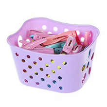 Clothes-Clip Clips Basket Hanger Socks Storage Plastic Strong with Racks Underwear And