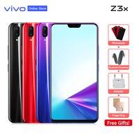 vivo Z3x New Arrivals Celular Phone Full Screen 4GB+64GB Android 9.0 SDM660AIE 6.26 FHD FingerPrint ID Smartphone