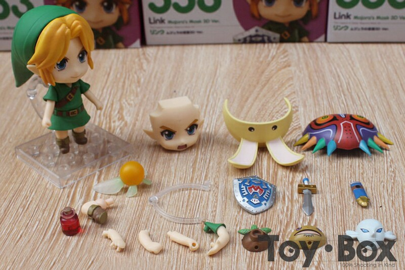 Anime The Legend of Zelda Link Majora/'s Mask Ver.Nendoroid 553 PVC Figure no box