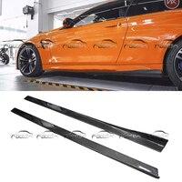 Для Mercedes Benz V боковая поверхность полоса для установки губы фартуки тела Наборы спойлер для BMW F80 F82 F83 стайлинга автомобилей