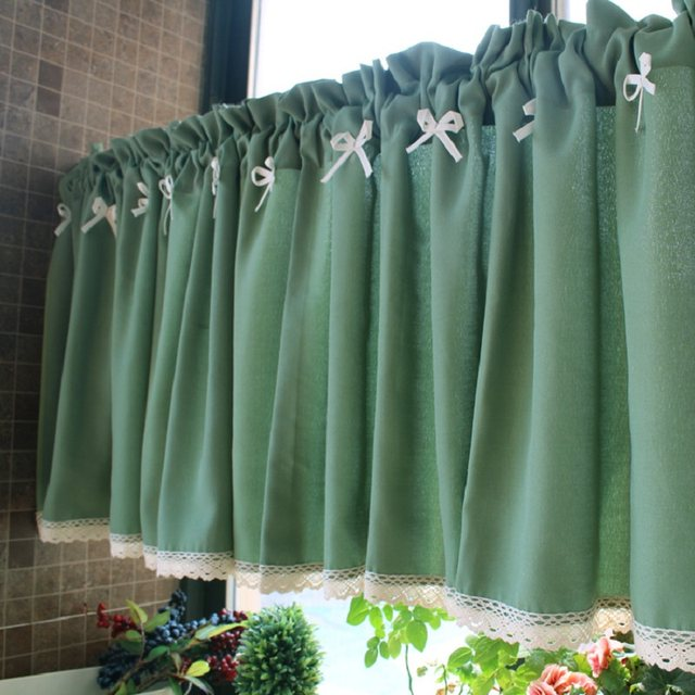 Lace Cafe Curtains Kitchen Best Decorating