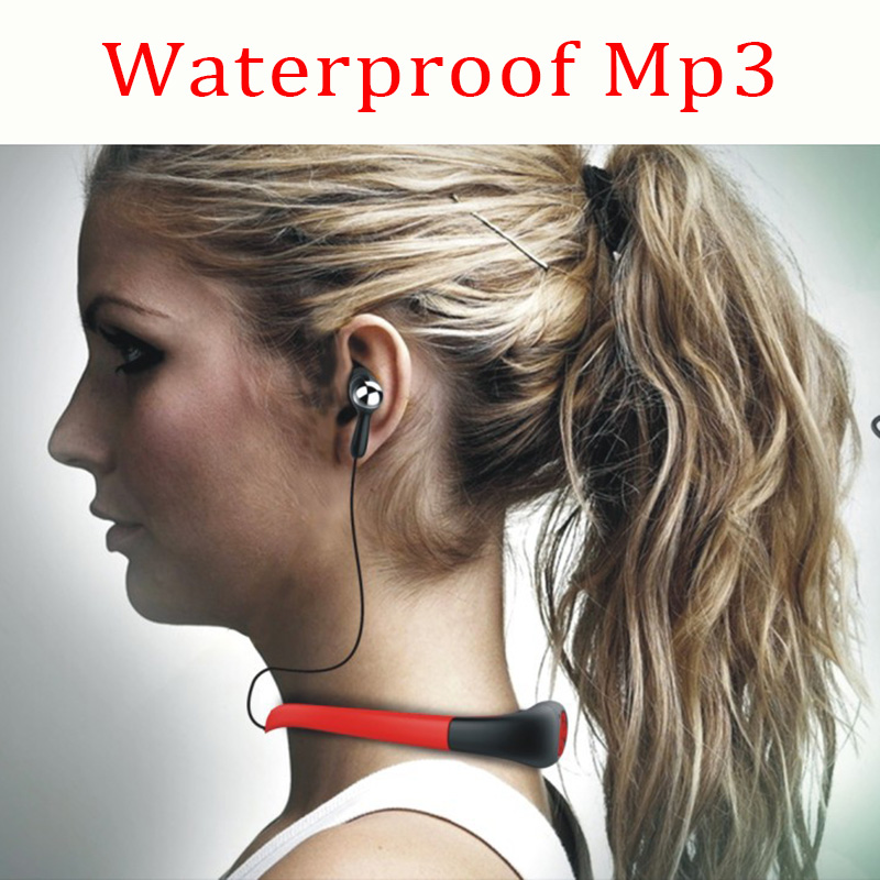 music 4GB underwater MP3 Player radio FM head wearing Players Diving swim surfing sports Super waterproof