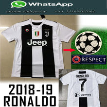 3a84ce8e8 Popular Thai Quality Version 2018 19 Champions Patch Juventuses Ronaldo  Adult Shirt and Soccer Jersey free