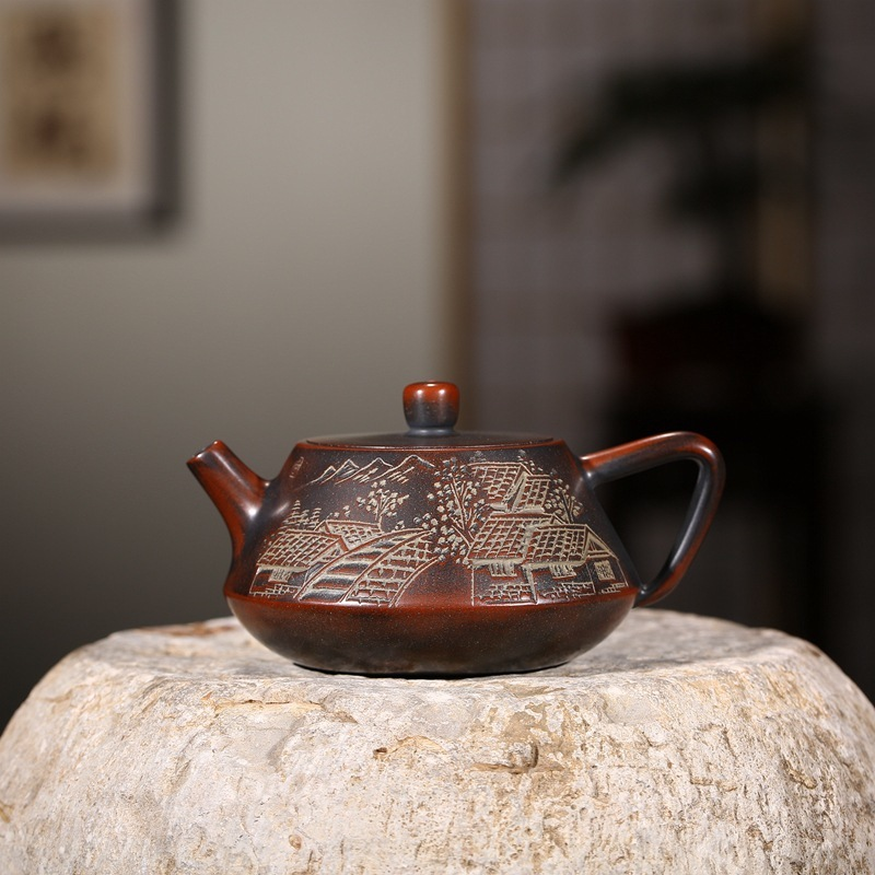 Sand pot of rhyme sea are recommended product nixing pottery vivi all hand wheel pot of kung fu tea tea setSand pot of rhyme sea are recommended product nixing pottery vivi all hand wheel pot of kung fu tea tea set