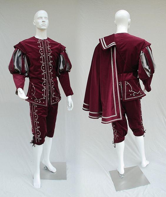 Reine Elizabeth Tudor période médiévale hommes cosplay tenue rouge Vintage hommes Costumes médiévale Renaissance robe rouge avec cape