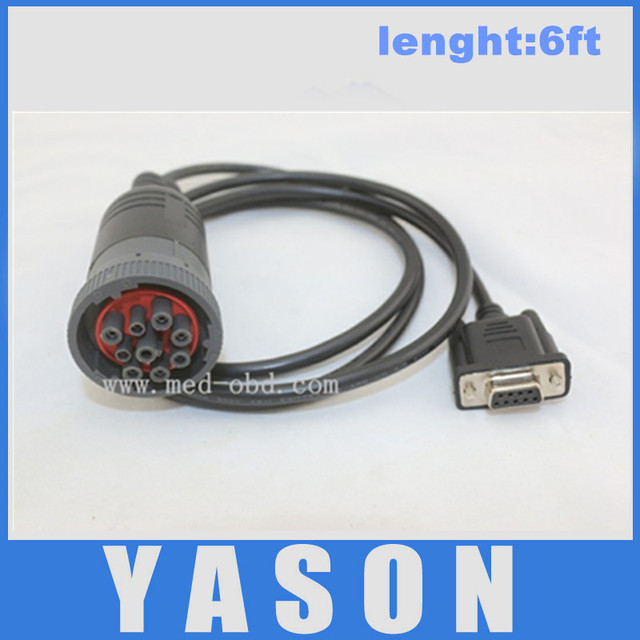 Cable, Truck J1939 9pin to DB9 Cable, 1.5m-in Wiring Harness from on