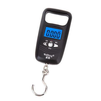 Chaude 50 kg Mini balance suspendue poche Portable LCD numérique suspendus bagages pondération pêche crochet échelle électronique balance