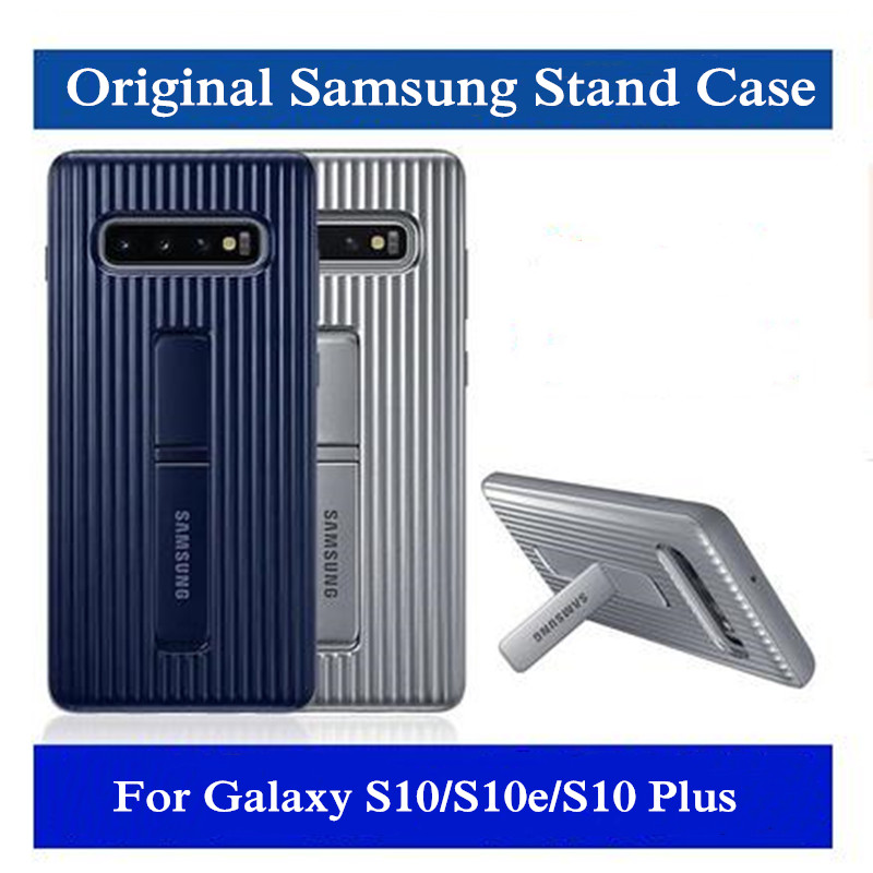 S10 Case 100% GENUINE Original Samsung Galaxy S10 Plus/S10e S10 Lite Standing Phone Case Ultimate Device S10 + Protection Cover