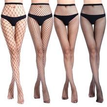 Сексуальные колготки с дырочками, черные сетчатые чулки, джинсы, Стрейчевые чулки, чулки в сеточку, Колготки высокого качества для женщин