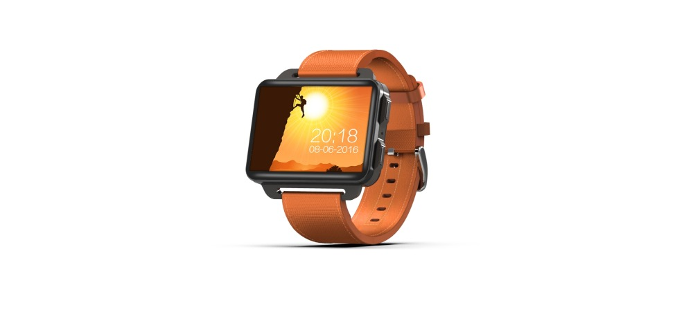 DM99 smartwatch update of DM98 MT6580 Quad Core 2 2 inch IPS