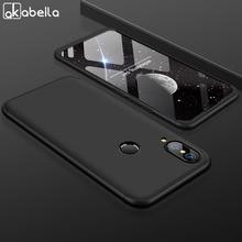 AKABEILA 360 Degree Protector Case For Huawei P20 Lite Global Cover Nova 3E 5.84 inch Shockproof Phone Shells