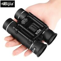 BIJIA 12x26 Mini Folding Binoculars Pocket Telescope Waterproof Opera Glasses For Bird Watching Hunting