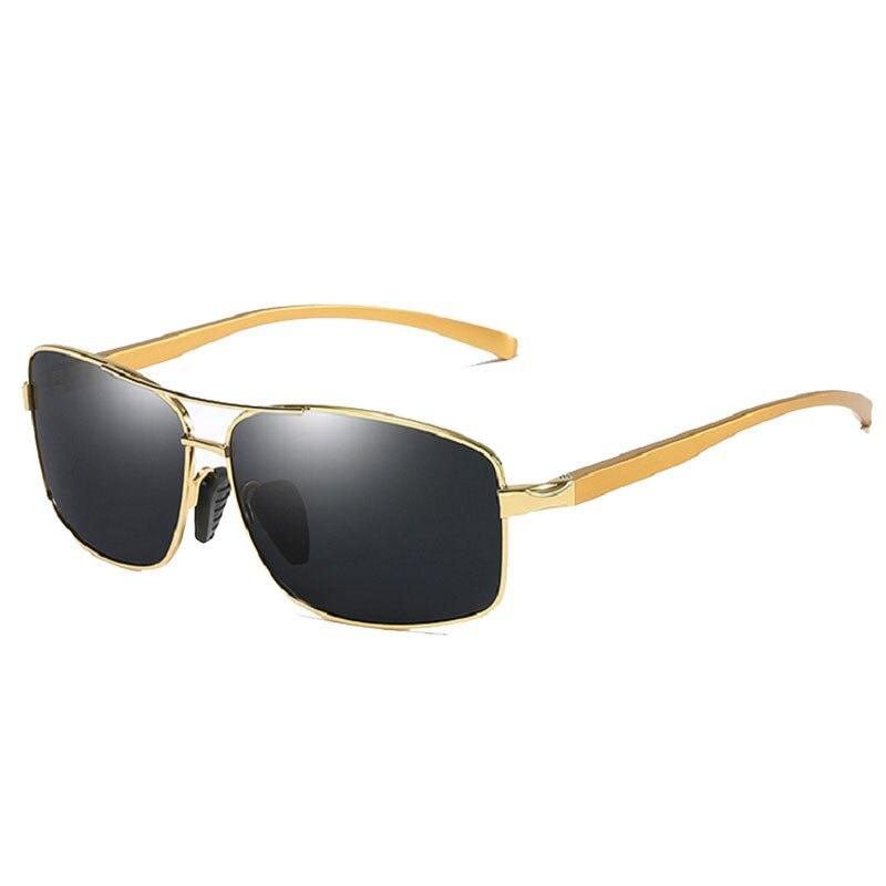 48d7f32e35f55 Nueva Gafas de sol hombres HD lente polarizada macho aluminio Marcos Sol  Gafas gafas Accesorios oculos gafas de sol masculino gafas