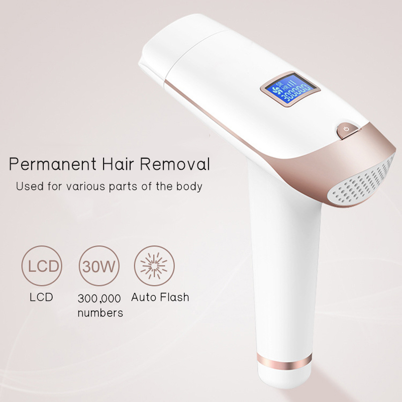 Lescolton 2in1 700000 pulsed IPL Laser Hair Removal Device Permanent Hair Removal IPL laser Epilator Armpit