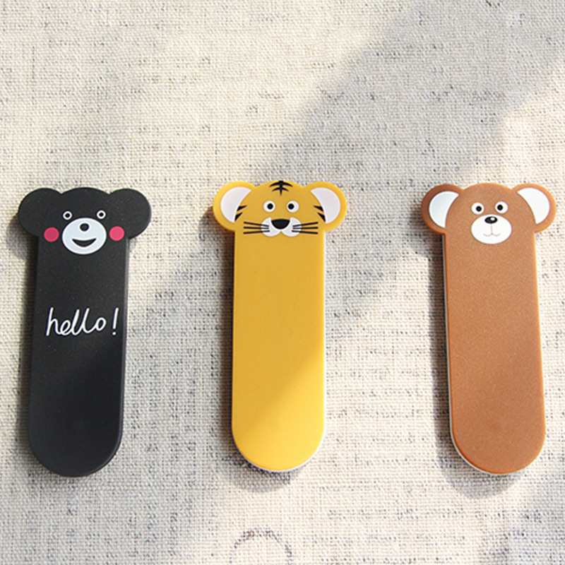Universal Finger Ring Holder Phone Ring Mobile Phone Grip Stand Multi Band Cute Animal Smart Back Sticker For Iphone Samsung