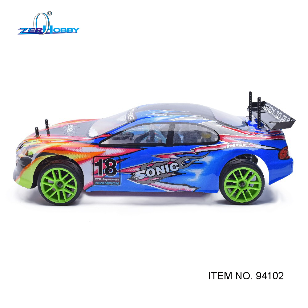 HSP RACING RC CAR SONIC 94102 1/10 SCALE 4WD ON ROAD NITRO POWER SPORT  RALLY RACING 18CXP ENGINE DOUBLE SPEED In RC Cars From Toys U0026 Hobbies On ...