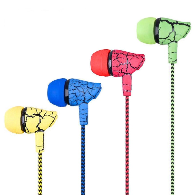 Earphone Stereo BASS In-Ear Earphone Noise Cancelling Headsets DJ Earbuds HiFi For Mobile Phone Fone De Ouvido Randomly