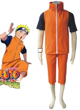 Free Shipping font b Naruto b font Shippuden Uzumaki font b Naruto b font Summer Uniform