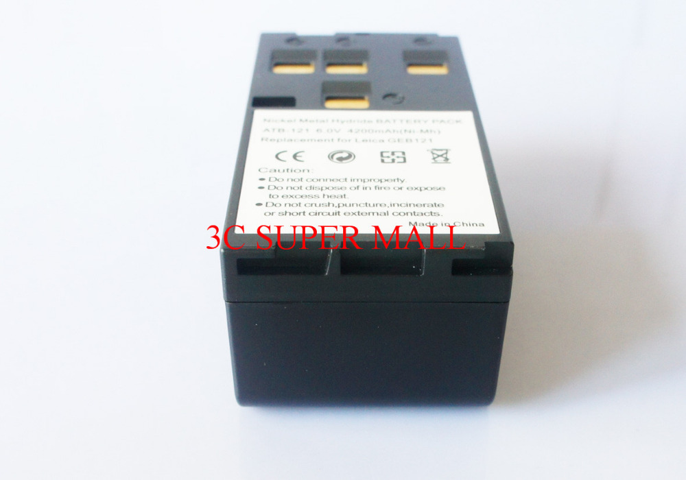 ФОТО NEW GEB121 Battery For  TPS400 TPS700 TPS800 TPS1000 Total Stations
